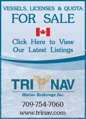 TriNav Brokerage Fishery Nation Ad - May 2013