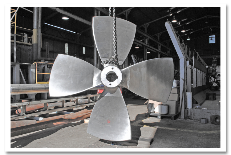 Kaplan_Stainless_Steel_Propeller