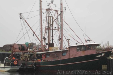Boat of the week from the athearn marine agency 68 steel for Commercial fishing boats for sale gulf coast