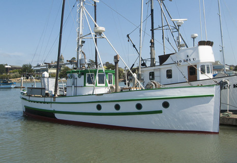F.V. Frances owned by Mike Anderson in Eureka California