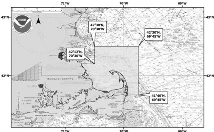 Whale management areas