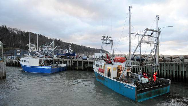 Fundy Fishermen tidal power