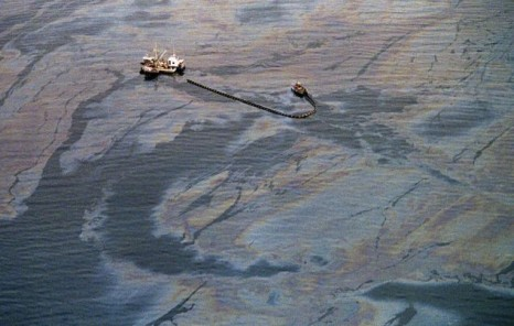 1989 grounding of the oil tanker Exxon Valdez