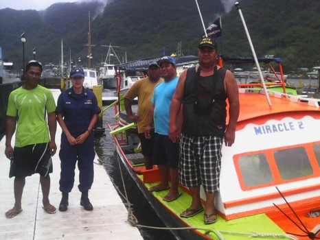 Coast Guard safety inspections american samoa