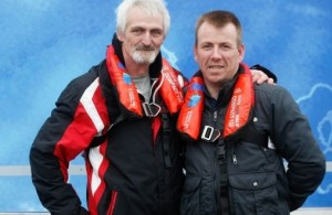 image Wicklow fishermen Gerald Copeland and David Massey,