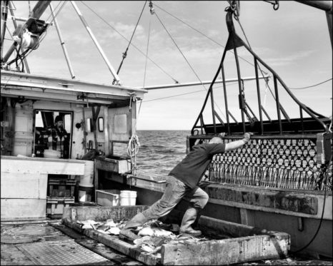 """""""Scallop Fishing on the Mister G"""" – Photographer Markham Starr captures a day in the life"""