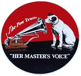 Pew her masters voice