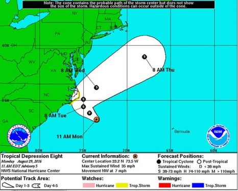Mid Atlantic: Coast Guard urges mariners, beachgoers to prepare for severe weather