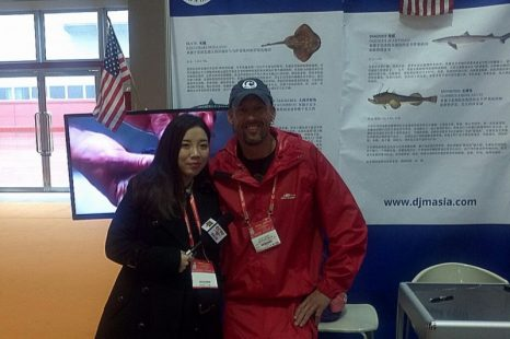 Lets help this guy get to the International Seafood Expo in Quindao, China and expand the dogfish markets