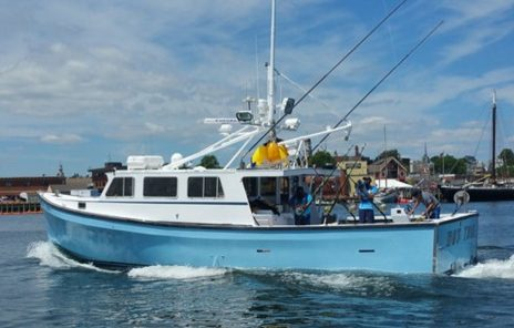 Axalta s imron paint shines on fishing boat featured on tv for Tuna fishing boats
