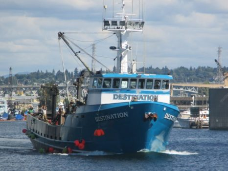 Extensive searches turn up no new sign of missing Bering Sea crab boat or crew