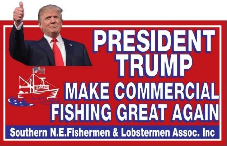 Calling on the president to make commercial fishing great again