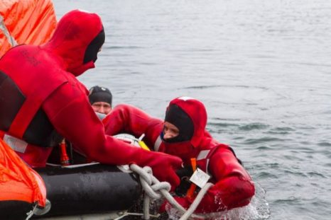Reality check – As they gear up for the season, Island fishermen receive two days of safety and survival training.