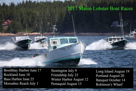 Stonington Lobster Boat Races, The Fastest Boats on the Coast! – July 9th, 2017