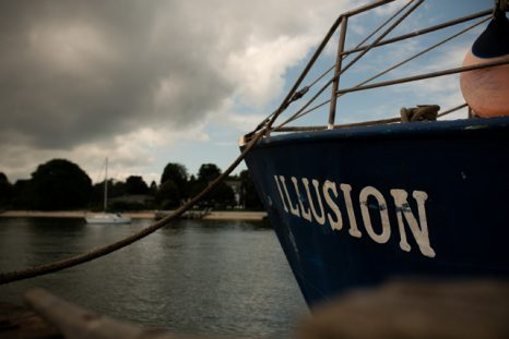 Capt. Mark Phillips and the Illusion, the last of its kind