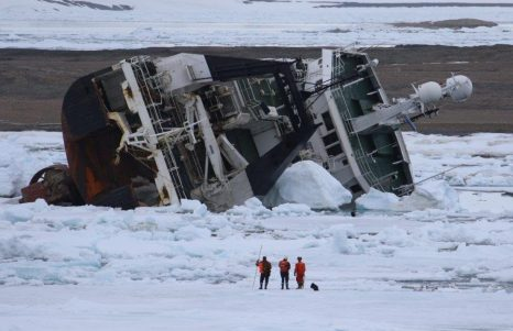 F/V Northguider: High Arctic Salvage Operation for Grounded Trawler Resumes