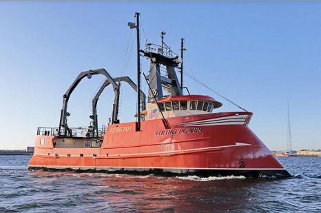 Head-turning new scallop boat Viking Power arrives in New Bedford
