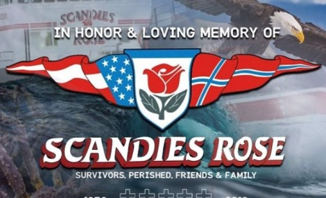 A Fundraiser has been started by Hailey and Lukas Engstrom for the family's of F/V Scandies Rose