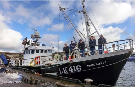 Fishing Vessel Endurance makes her first trip to Flugga