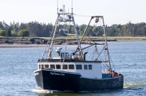 F/V Chief William Saulis: Commercial fishing vessel located upright after month-long search