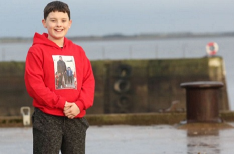 Son of a lost fisherman nominated for a 2021 Young Scot Award after his incredible fundraising efforts