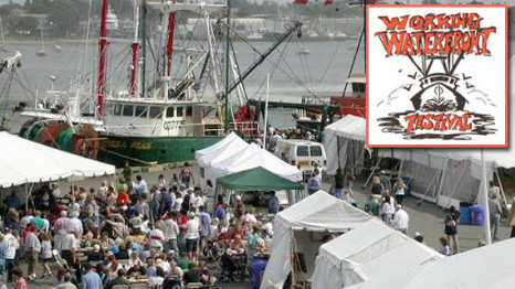 New Bedford: Working Waterfront Festival September 23, 2017 On Steamship Pier and at the New Bedford Fishing Heritage Center