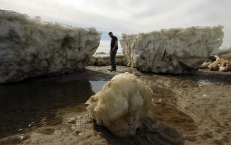 ice flows cape cod
