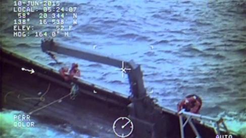 crew of the fishing vessel Kupreanof