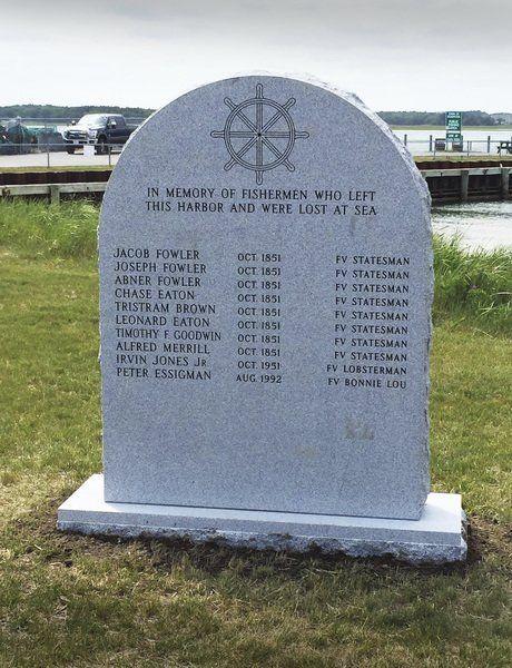 seabrook fisherman memorial