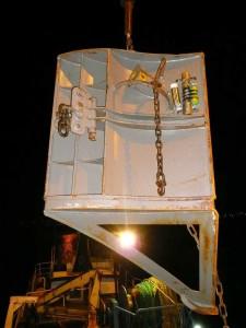 Jumper-trawl door