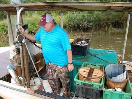 Sammy Corbett, chairman of the N.C. Marine Fisheries Commission,