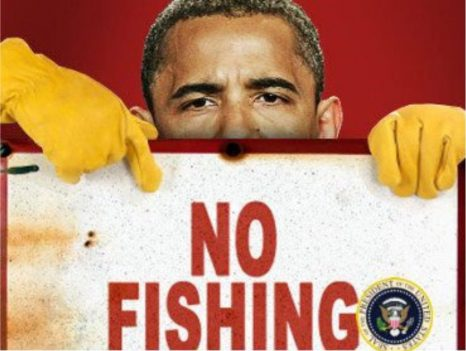 Well, he did it, but we knew he would. Obama just destroyed more fishermen and supporting businesses