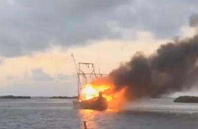 shrimp-boat-fire-aransas-pass