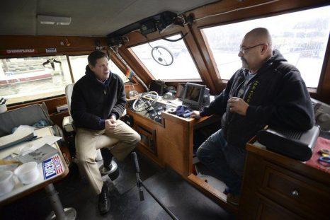 'Wicked Tuna' captain schools U.S Senate candidate Geoff Diehl on fishing issues