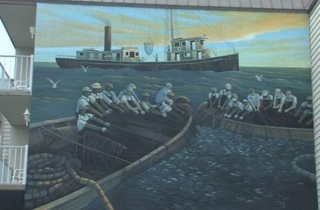 Menhaden Mural and Otis Smith Plaque Unveiled in Lewes