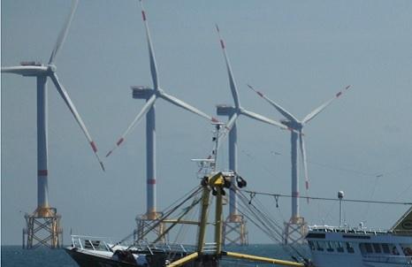The North Sea industrial estate