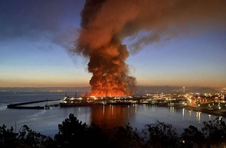 Please, Donate if You Can to the San Francisco fishing fleet fire recovery fund