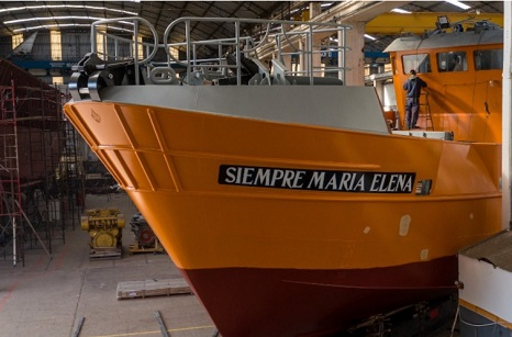 New Trawler Built Under Coronavirus Restrictions