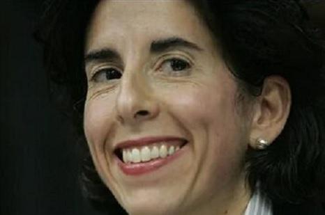 President-elect Joe Biden has chosen Rhode Island Gov. Gina Raimondo as his commerce secretary