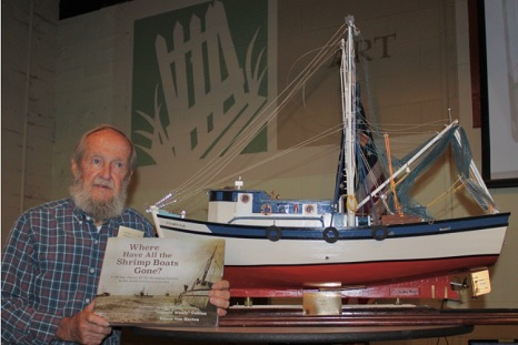 New book tour: Where Have All The Shrimp Boats Gone? Captain Woody Collins visits Colleton Museum