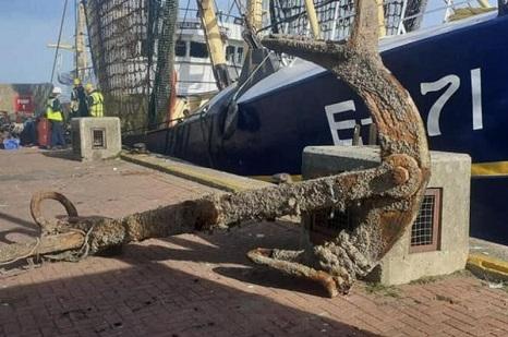 Brixham fishermen recover rare ship relic off Dorset coast